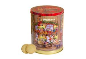 Walkers Shortbread Musical Tin