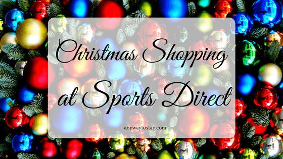 Christmas Shopping at Sports Direct