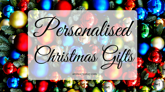 Personalised Gifts for Christmas
