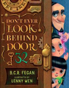 Don't Look Behind Door 32 Cover