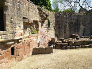 Prudhoe Castle layers of history amongst the walls