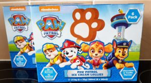 Paw Patrol Ice Cream