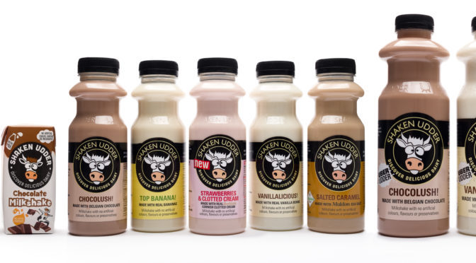 Delicious Shaken Udder Milkshakes
