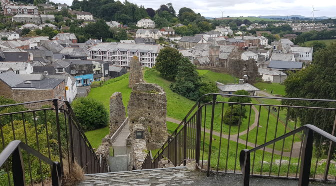 Our Visit to Launceston Castle