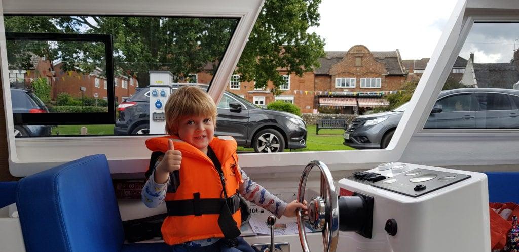 Herbert Woods Picnic Boat