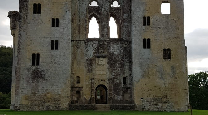 Our Visit to Old Wardour Castle