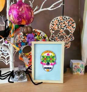 Sugar Skull Quilling Makerly