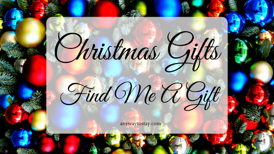 Christmas Gifts from Find Me A Gift
