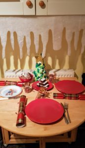 Christmas Table Setting Crafts