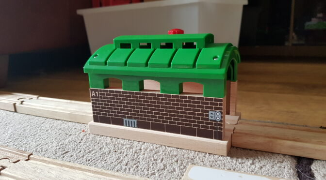 BRIO Train Garage Review