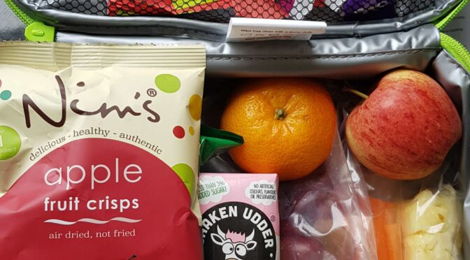 Easy Lunch Box Fillers with Shaken Udder