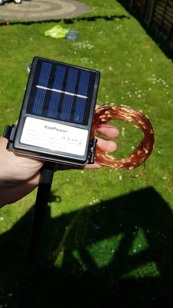KooPower Solar Lights