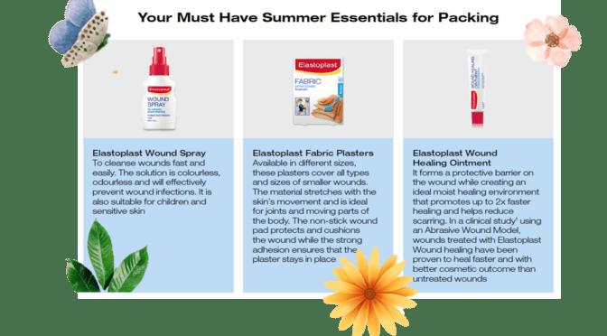 Summer Healing with Elastoplast