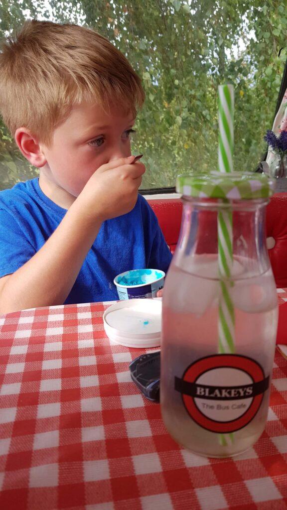 Ice CReam at Blakey's
