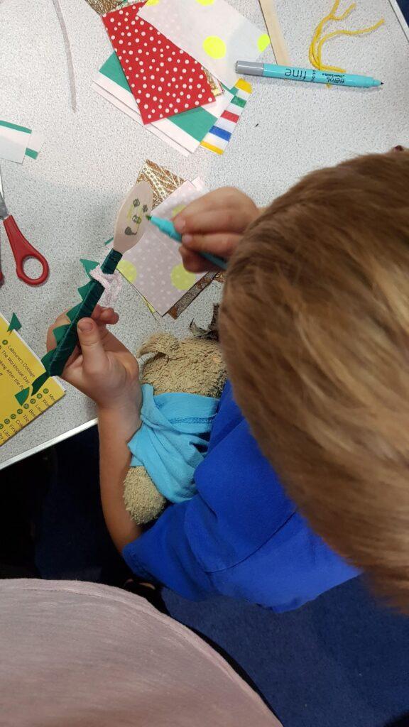 Crafting activities at Gressenhall
