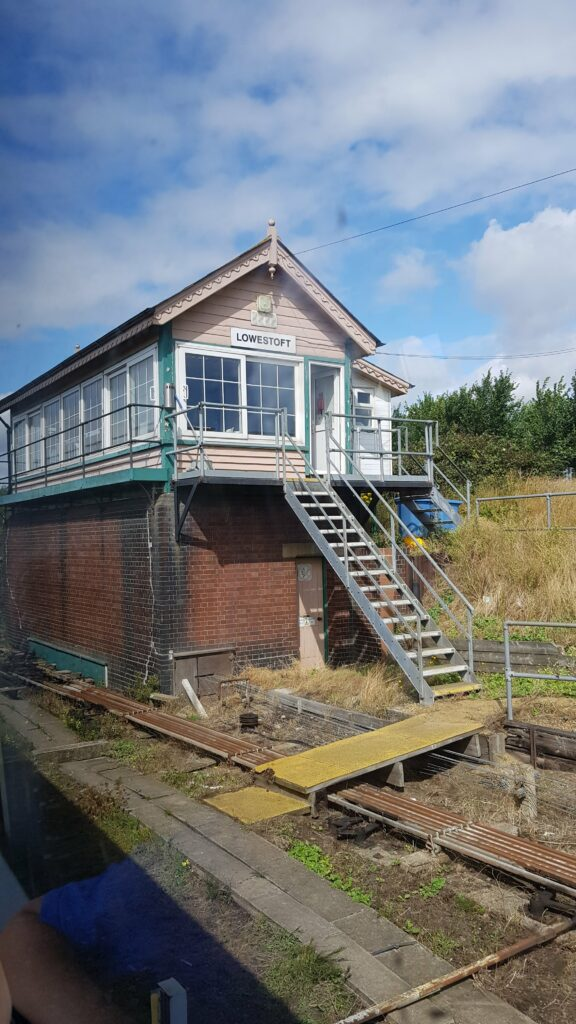 Lowestoft signal box