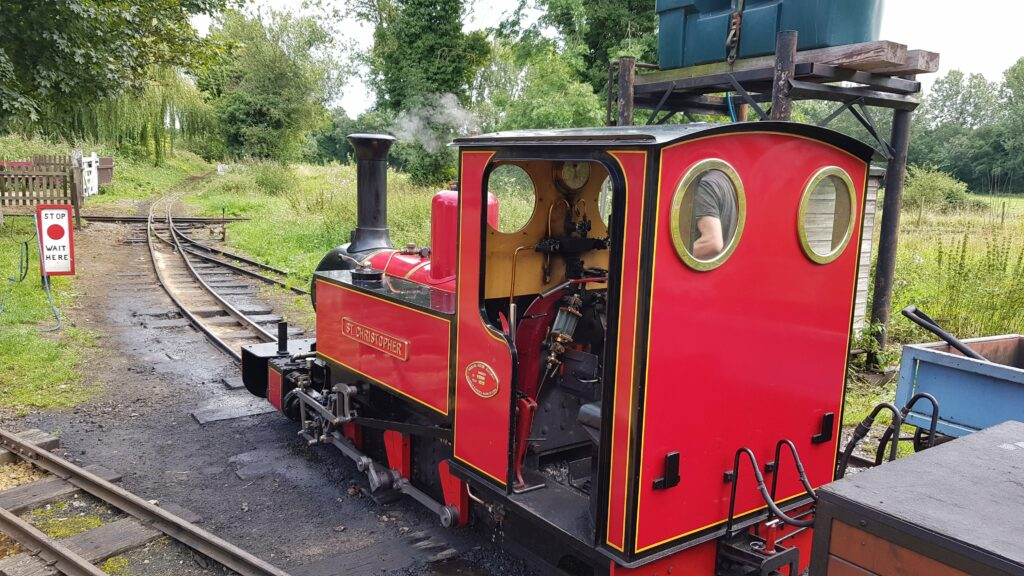 Trains at Bressingham