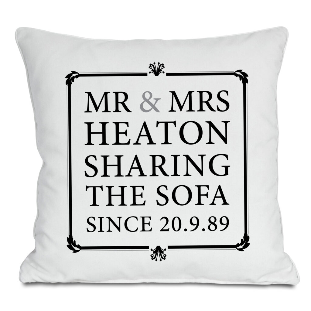Sharing The Sofa High Res Cushion