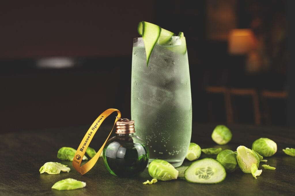 Brussels Sprout Gin & Tonic