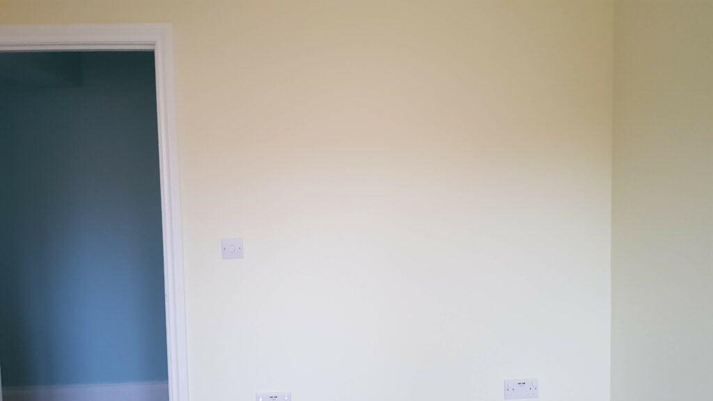 A fresh, blank wall