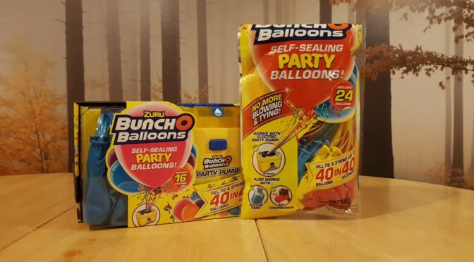 ZURU Bunch-O-Balloons Party Pump and Balloons pack