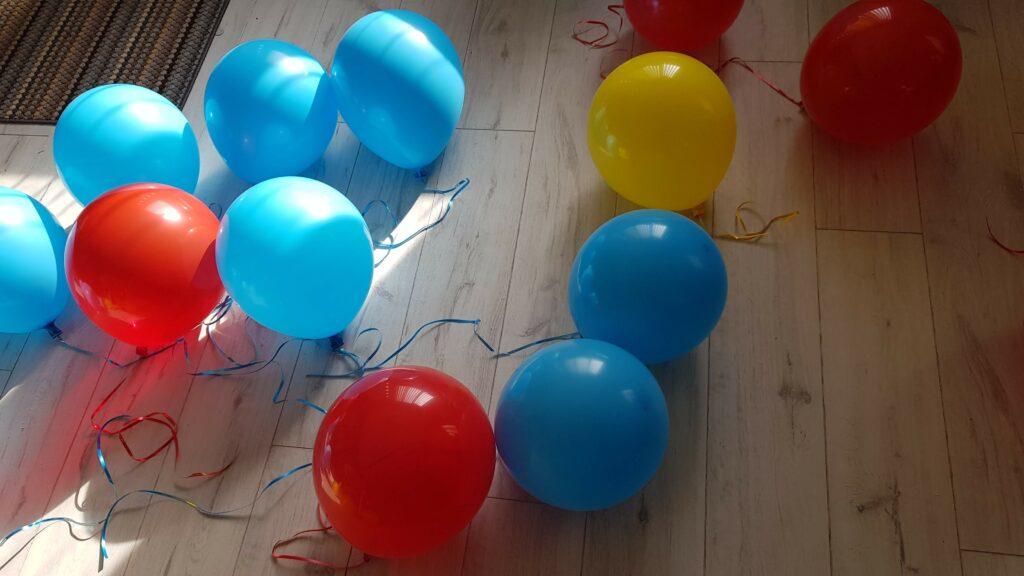 A room full of balloon fun