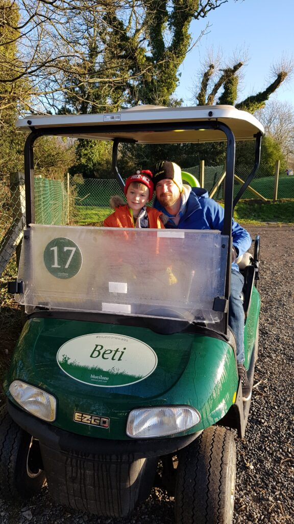 Beti the golf buggy