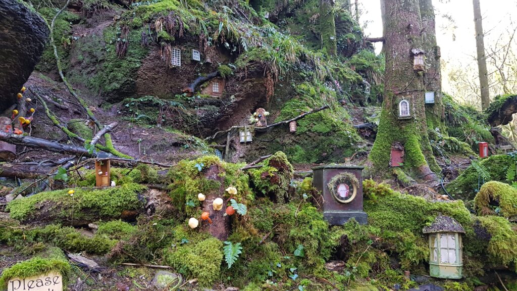 Fairy Village Bluestone