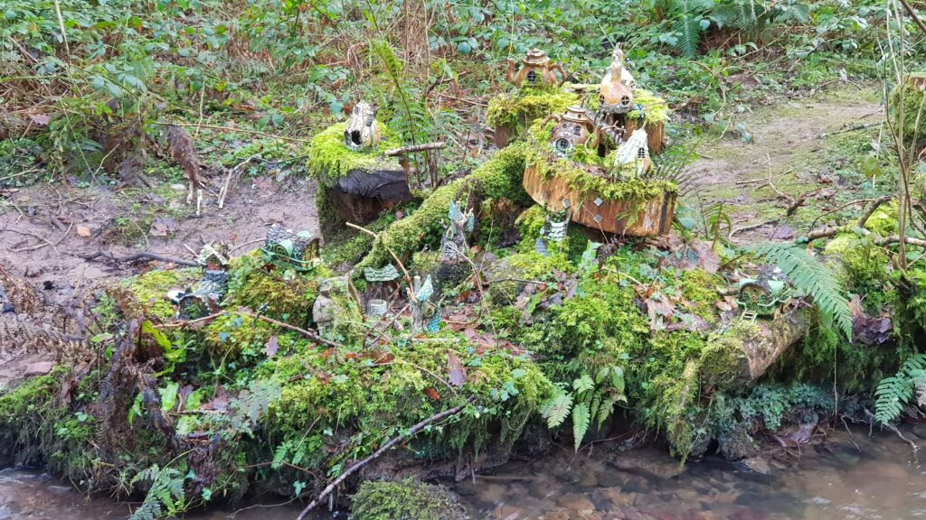 Fairy village in Bluestone