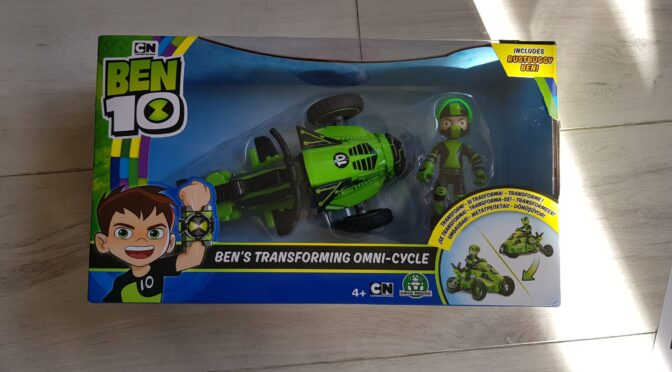 Ben 10 Omni Cycle Toy Review