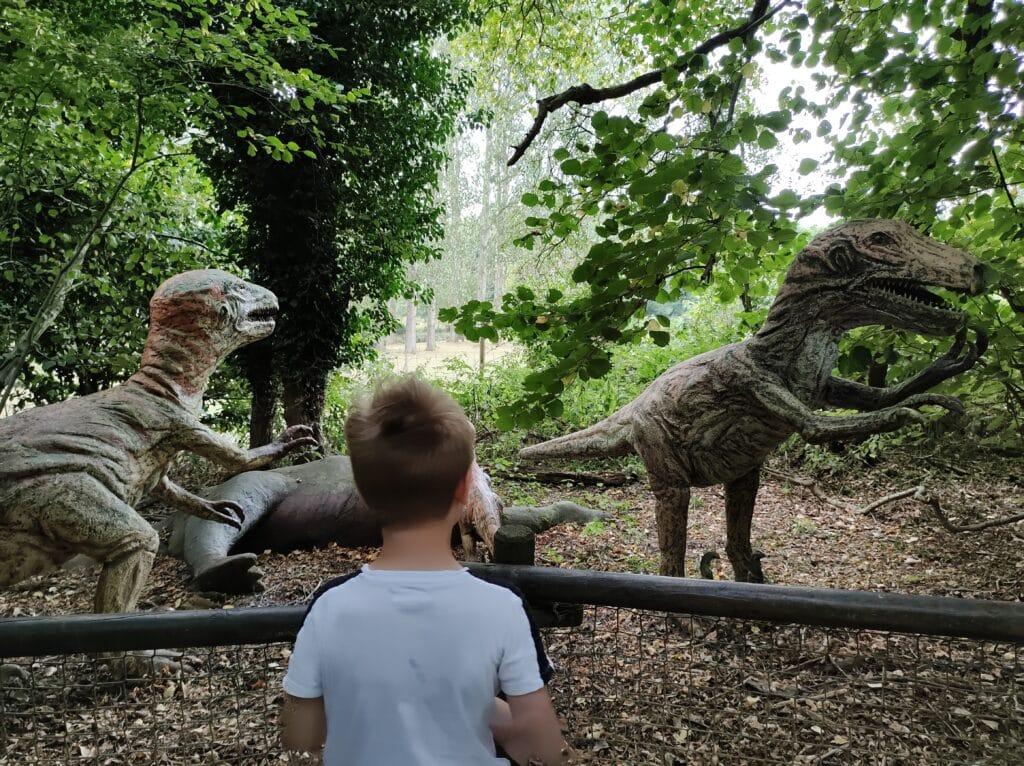 watching dinosaurs