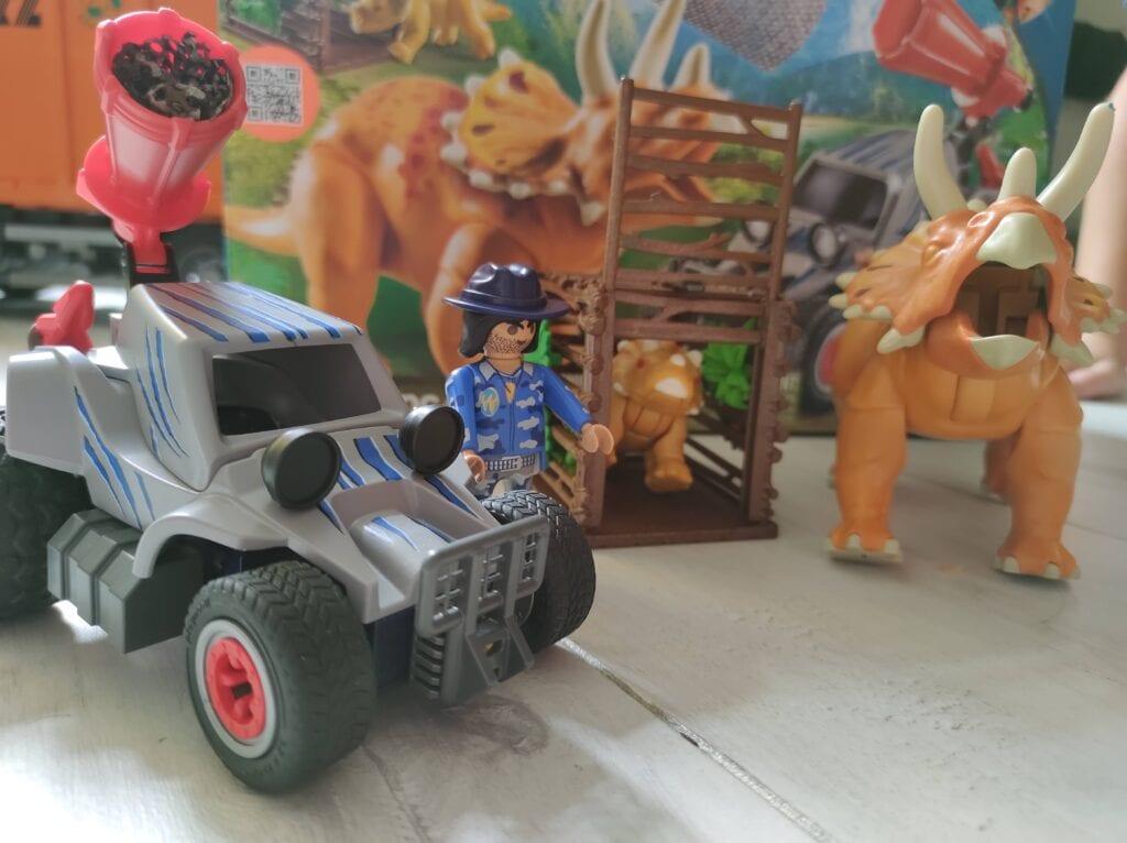 Playmobil Dinos Enemy Quad