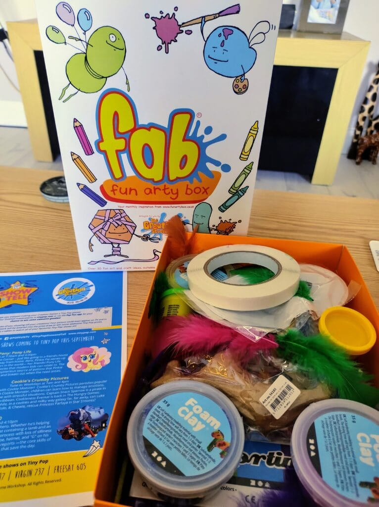 Fab Fun Arty Box from The Creation Station