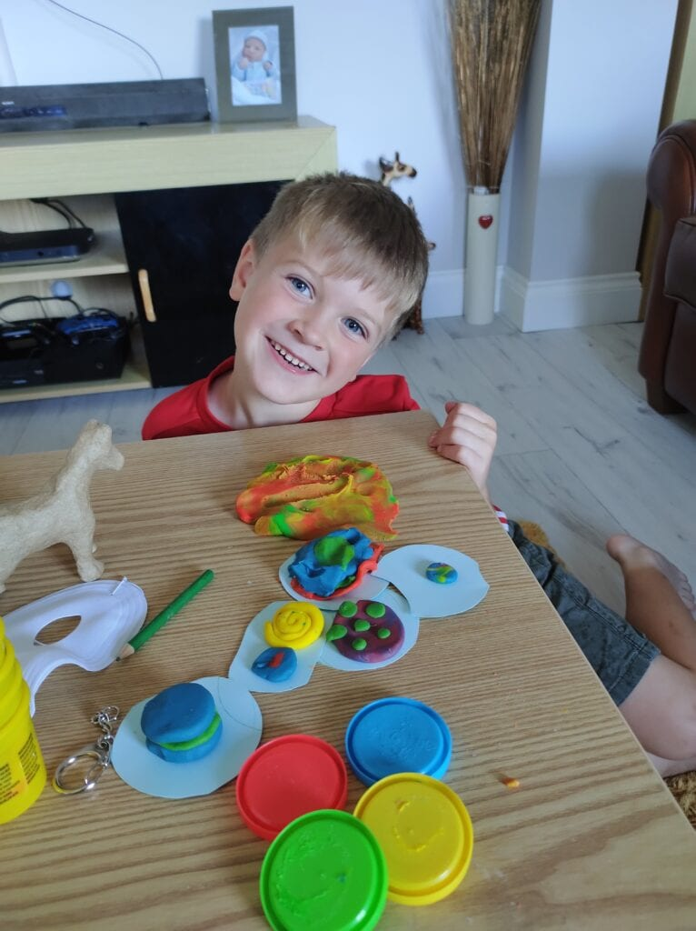 Play Doh Cookies for Show and Tell