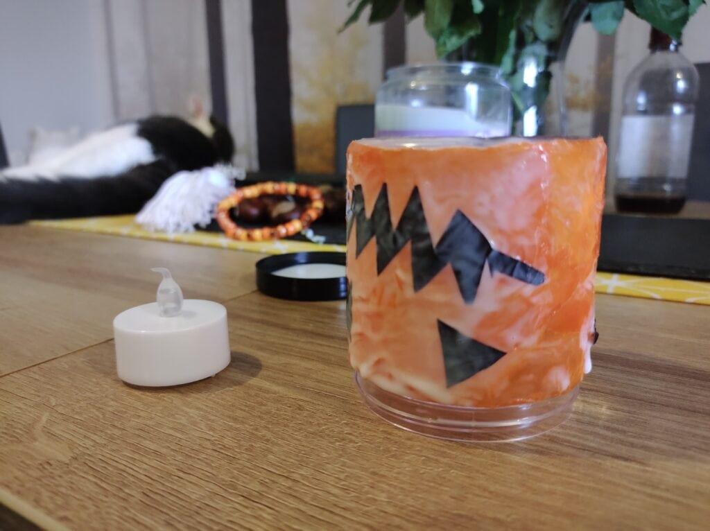 Pumpkin tealight