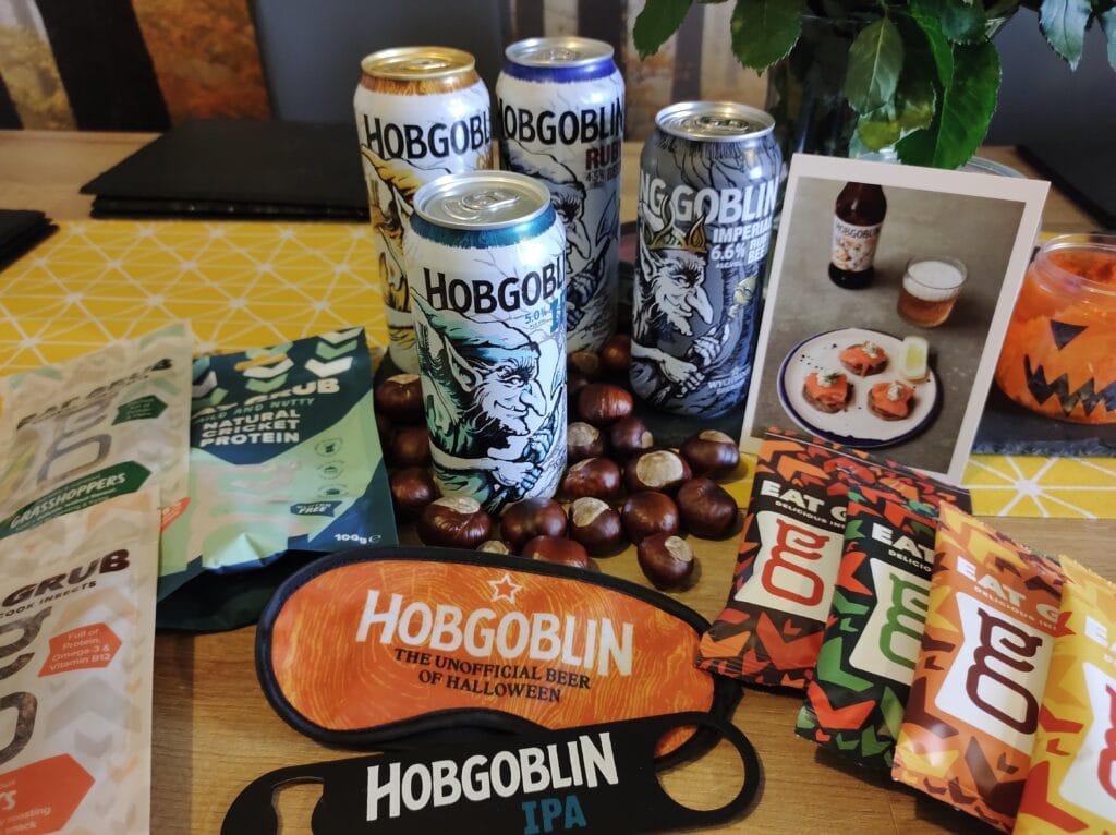 Beer & Bugs taster box