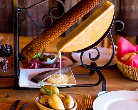 Traditional Raclette Peisey-Vallandry
