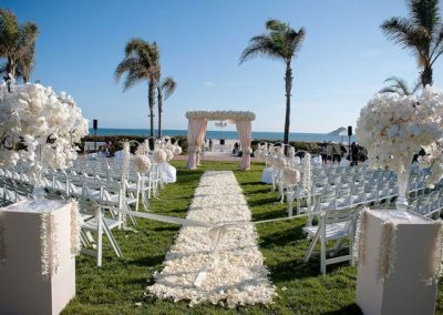 Outdoor destination wedding venue