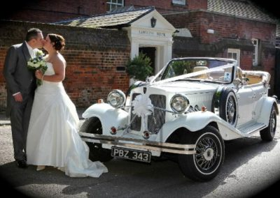 Vintage Wedding Car