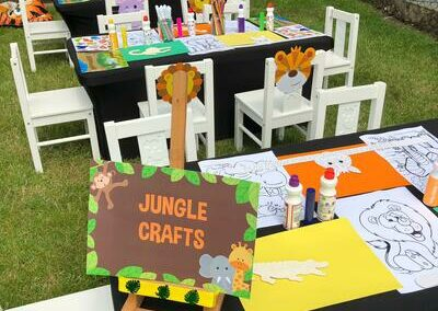 Table and theming and decor for Birthday parties