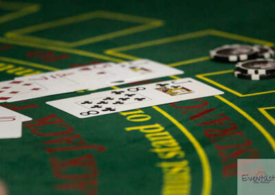 Casino Black jack tables to rent