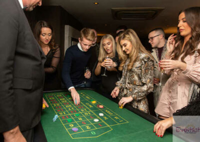 Casino Hire and rent for Corporate event