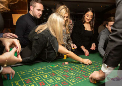 Casino Roulette Table for hire at event