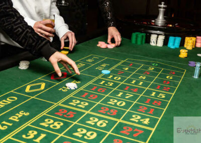Casino Table hire in London