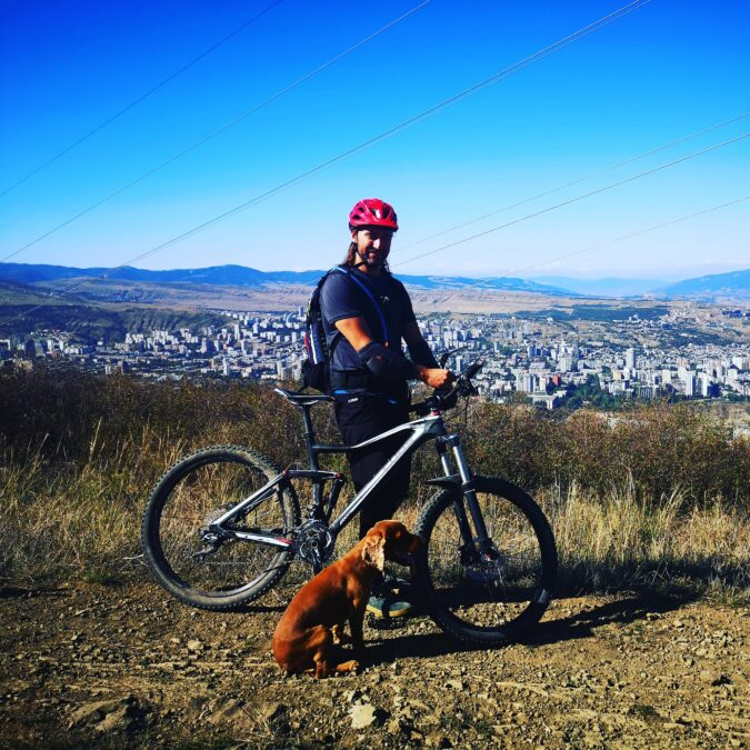 mountain bike Tbilisi