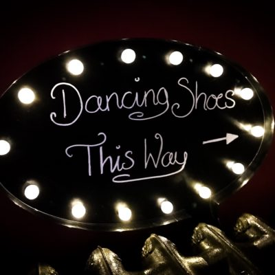 illuminated speech bubble wedding sign