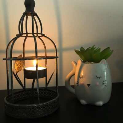 birdcage tea light