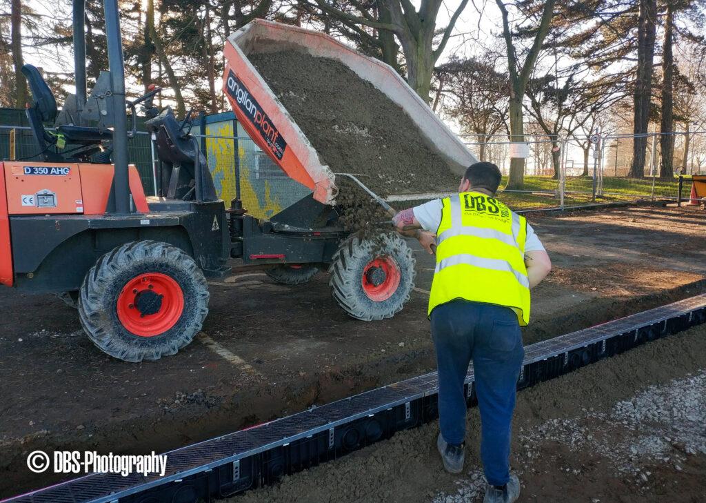Eaton Park 1 - New Grounds Depot - Work in Progress