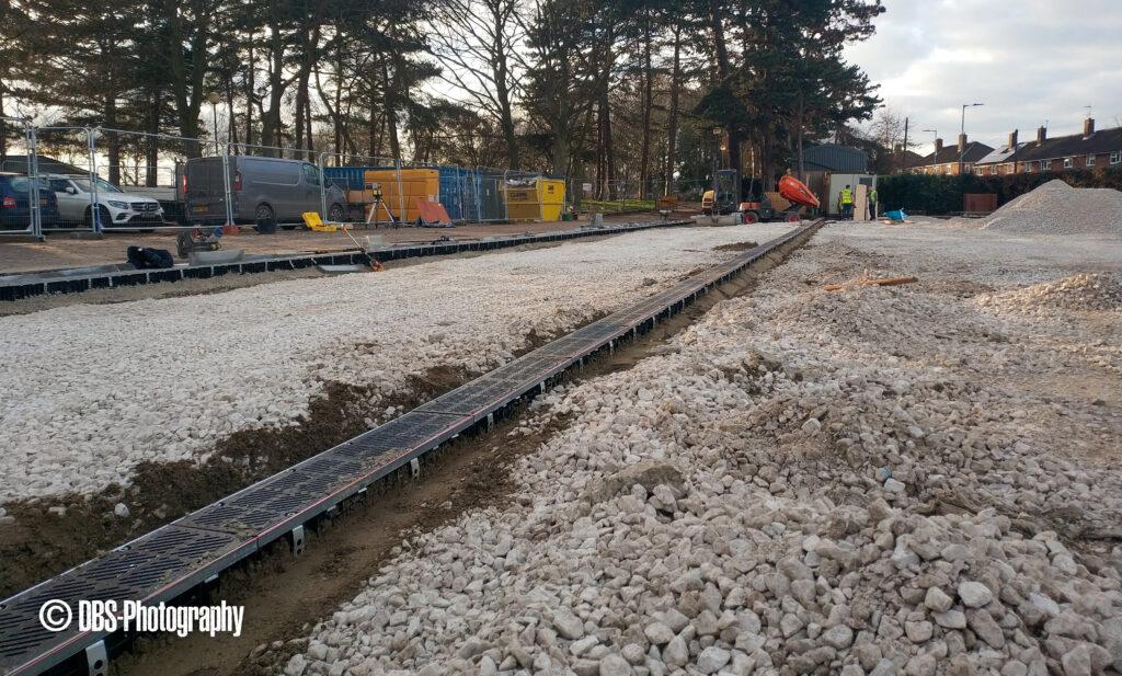Eaton Park 2 - New Grounds Depot - Work in Progress
