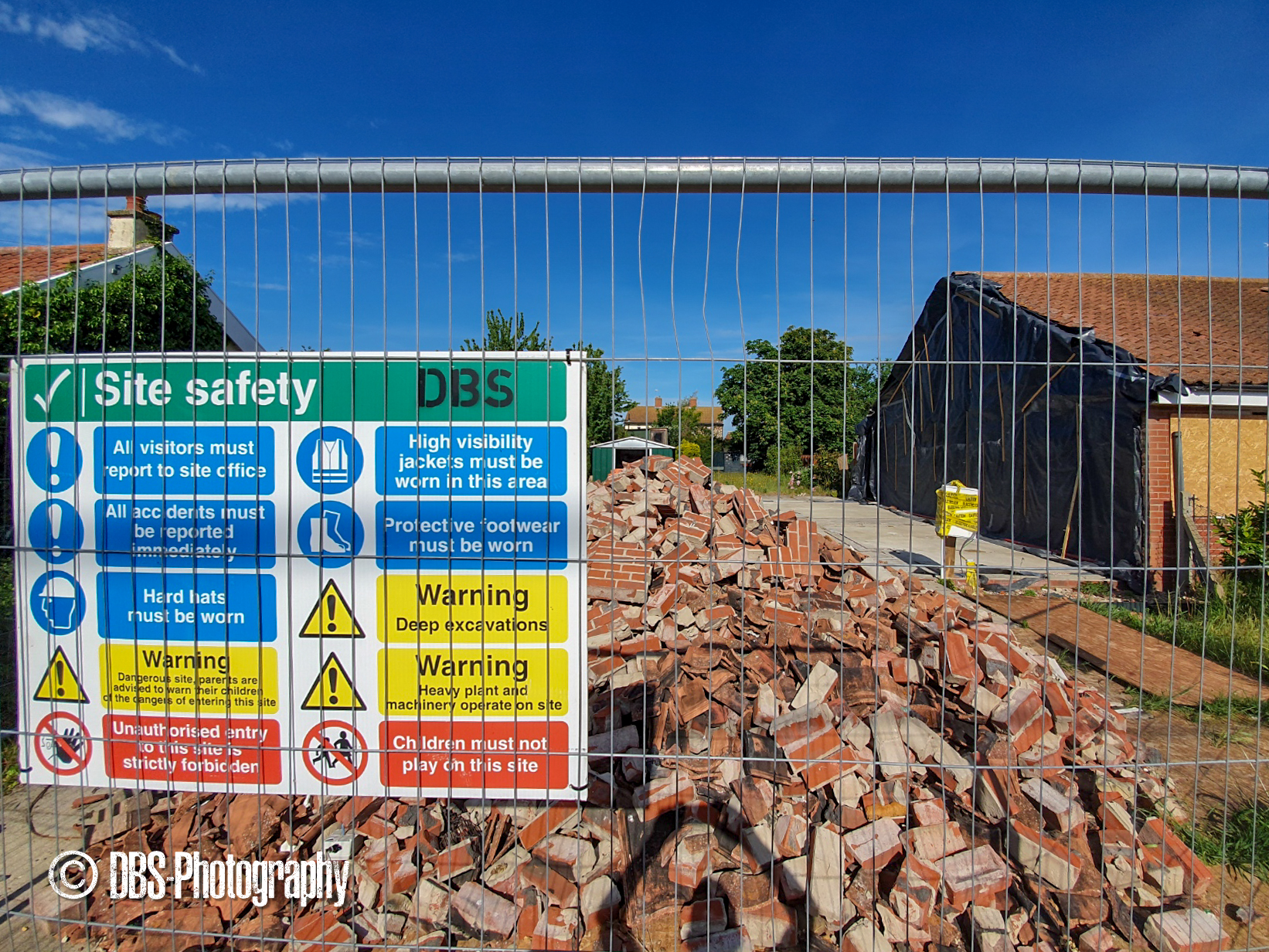 Shotley Re-build - Site Safety